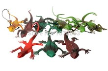 1pcs in Random Small Lizards Trick Fun April Fool's Day Jokes Prank Toy Laughs Gags Pranks Maker Novelty Mischief Halloween