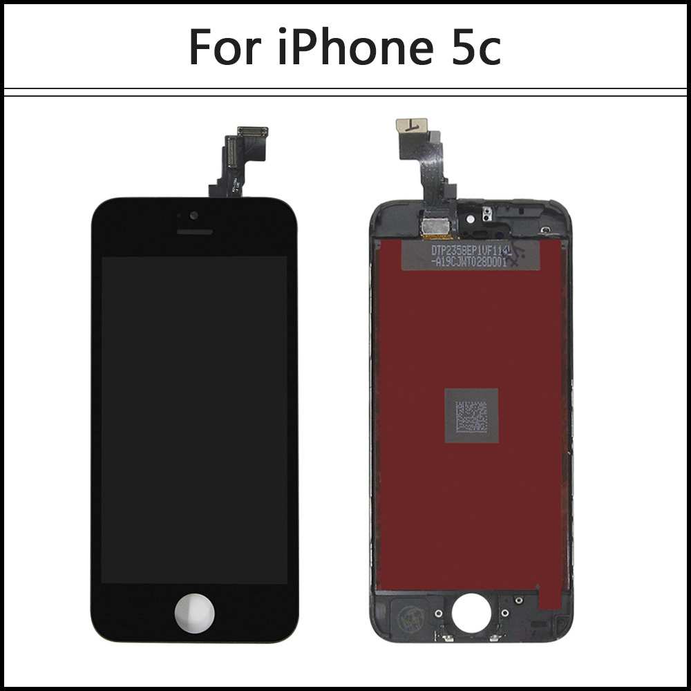 100% Grade AAA Brand New for iPhone 5 5C 5S LCD Display touch screen with digitizer replacement assembly parts free shipping