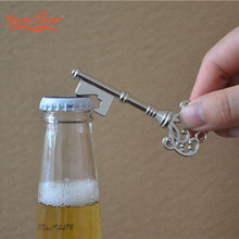 Retro Metal Portable Key Beer Bottle Opener&Ring Bar Tool Hangings Keychain Gift(China)