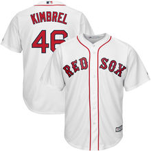 MLB Men's Boston Red Sox Craig Kimbrel best #46 Baseball White Home Cool Base Player Jersey 01(China)