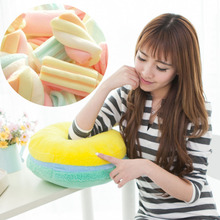 macaron cushion french macaron round cake pillow cushion [APPLE CANDYFLOSS](China)