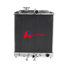 SALE NEW 2 ROW Aluminum Radiator FOR Honda civic EK EG 92-00 Automatic Manual BRAND AUTO Replacement Parts Radiator High Quality