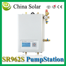 Solar pump work station  SR962s double pipes for Split pressurized hot water  system