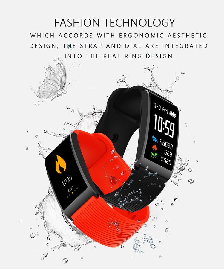 Microwear X3 IP68 Waterproof smart fitness bracelet pedometer blood pressure smart wristband Android iOS fitness tracker 16