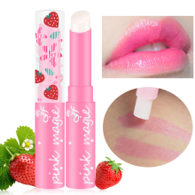 1pcs Brand Makeup Pink Baby Lips Nude Lipstick Matte Cosmetics Waterproof Jelly Lips Balm Moisturizering Lip Care