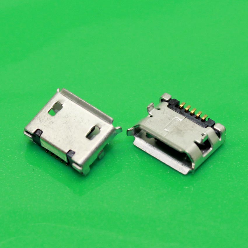 YuXi Mobile phone USB Micro connector for mobile or tablet Jack V8 5PIN Short needle 6.4mm for Lenovo ThinkPad Zte Huawei<br>