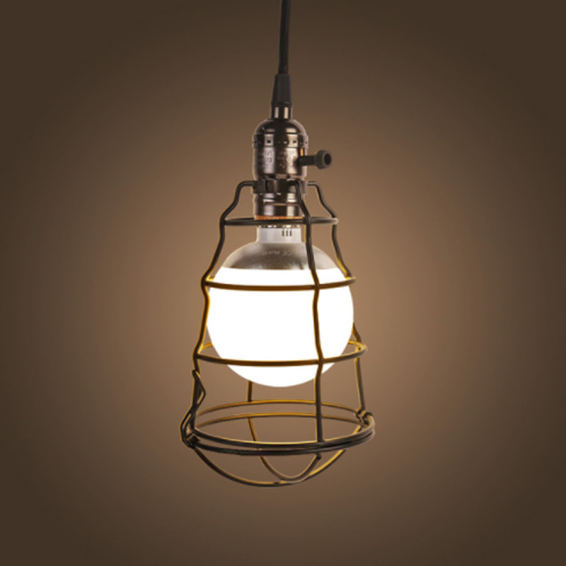 Iron Series Pendant Lights Modern Vintage LED Hanging Lamp Simple Decorative Restaurant Dinning Room Canteen Cafe Bar Free Ship<br>