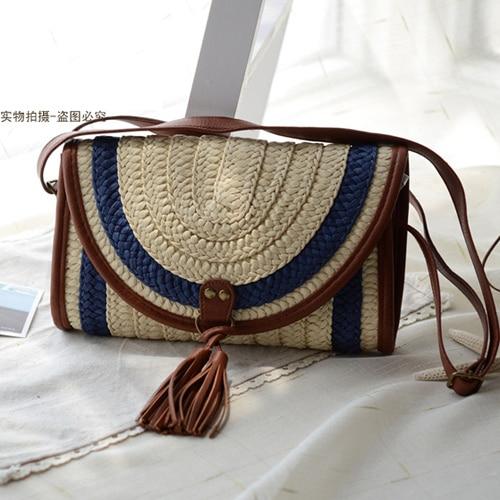 Straw bag 2016 summer Fashion  shoulder bag women messenger bag beach cute lovely beauty<br><br>Aliexpress