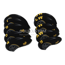 POWO  Newest 10pcs Eagle pattern Neoprene Golf Club Iron Head Cover  Headcover set A perfect gift for golfers