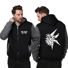 New Arrival Winter Thicken Casual Unisex Hoodie Hot Anime Monster Hunter Zipper Hooded Coat Hoodies & Sweatshirts Outer Wear