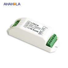 5 years warranty 12v 24v led pwm dimmer signal convert 0-10v dimmer signal dimming range 0-100% output 3ch