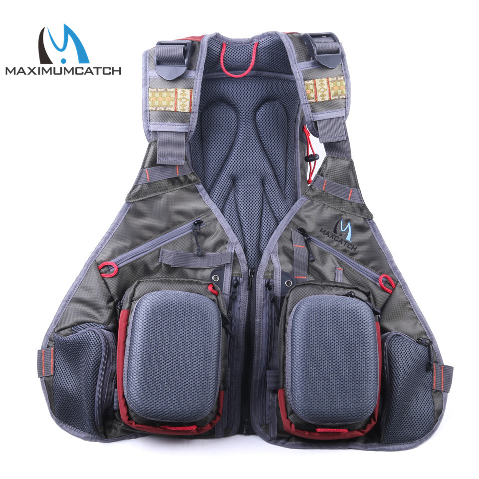 Maximumcatch  Multifunction Pockets Size Adjustable Fishing Backpack Fly Fishing Vest<br><br>Aliexpress