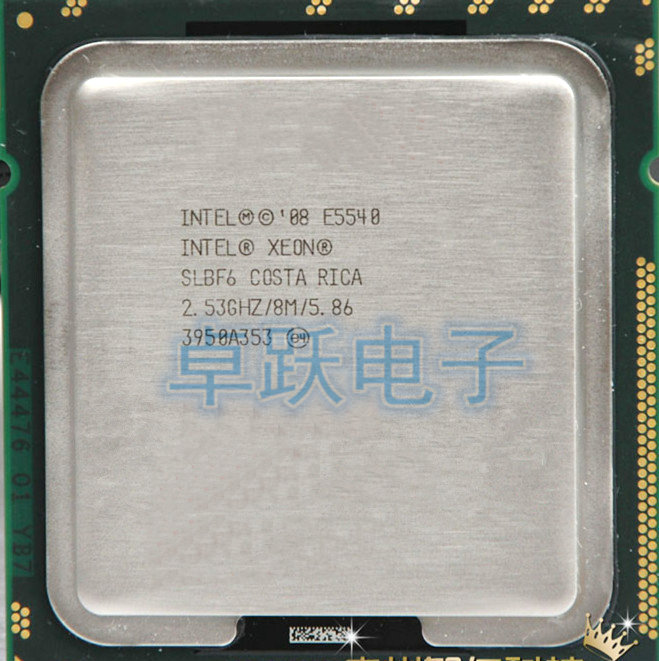 Intel SLBF6 Xeon Quad Core E5540 2.53GHz 8MB Cache LGA1366