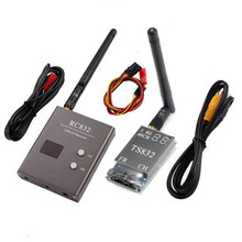 Eachine TS832 RC832 Boscam 5.8G 48CH 600mW FPV Transmitter Receiver Combo AV VTX RX Set 7.4-16V For FPV Multicopter