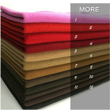 1~12# Color Multicolor Free Shipping Cashmere And Woolens Cut velvet Wool Fabric Coat Winter Garment(China)