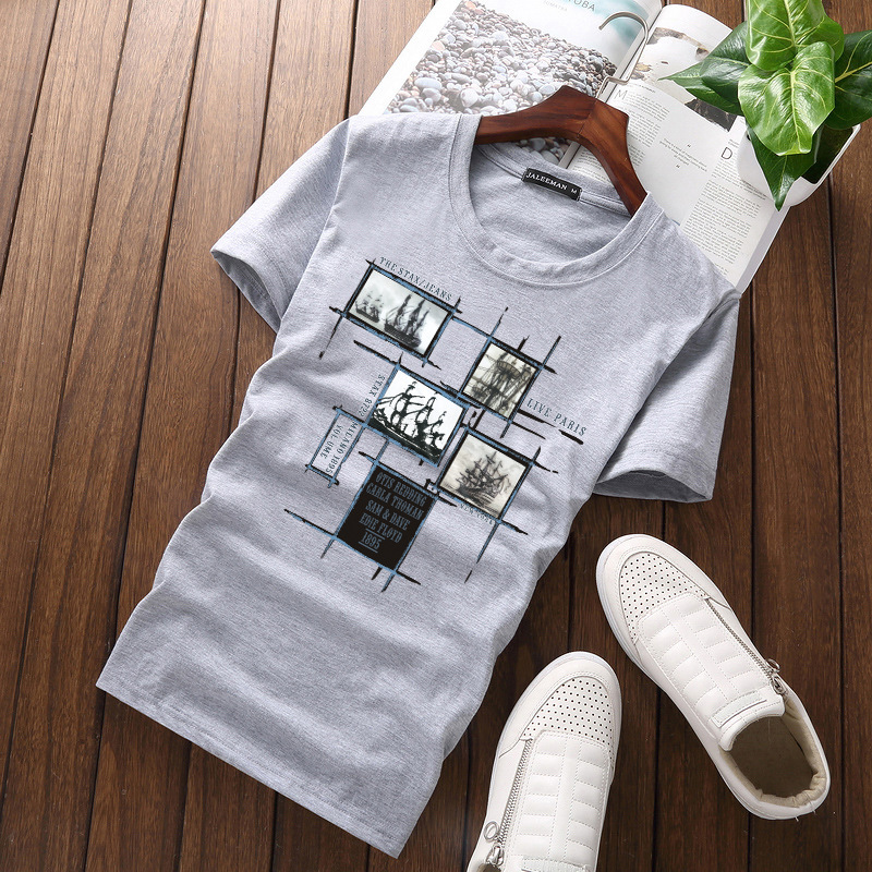 Jalee Man 18 Men's T-Shirts Plus Size 5XL Tee Shirt Homme Summer Short Sleeve Men T Shirts Male TShirts Camiseta Tshirt Homme 4