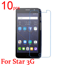 10pcs glossy/Matte/Nano anti-Explosion LCD Screen Protector Film Cover For Alcatel One Touch pop Star 3G 5022/X/D Film + cloth(China)