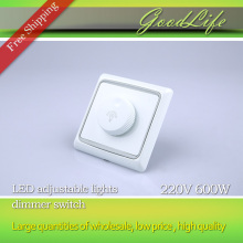 LED SCR dimmer switch AC220V 600W Dimming Driver Brightness Controller For Dimmable Ceiling light Downlight Spotlight(China)