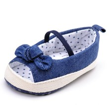 2016 new baby shoes baby girl shoes comfortable denim fish head toddler shoes infant soft sole toddler girl shoes baby