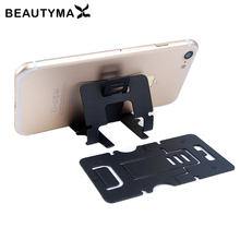 5pcs Card Phone Holder For Iphone 7 6 plus 5s Stand Holder For Samsung S8 plus S7 edge Support Display Universal Soporte Holder(China)
