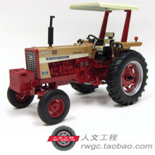 CASE IH 656 tractor Case IWC golden car model American brand ERTL 1:16(China)