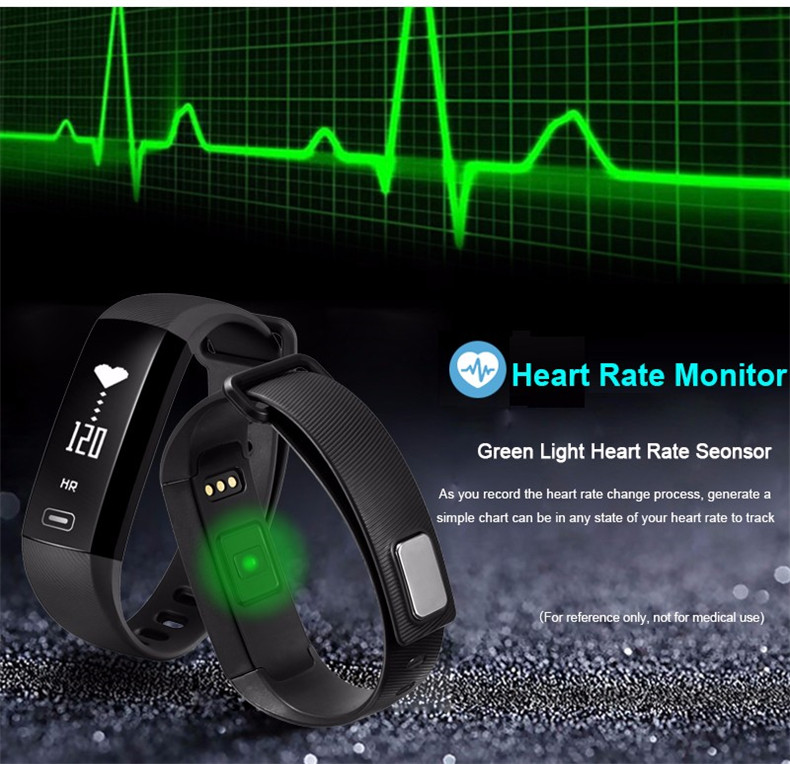 image for LUOKA M2 Smart Band Heartrate Blood Pressure Oxygen Oximeter Sport Bra