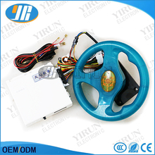 New 31 in 1 racing car game pcb FIRE CAR video game board with steering wheel Wire harness for Children's game machine(China)