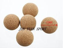 High quality!5pcs cork table soccer balls (natural) FOOSBALL 35 mm soccer professional ball for fuzzball quietly ,Free shipping