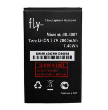 2000mAh 7.4Wh BL4007 Li-ion Rechargeable Replacement Phone Battery For FLY BL 4007 Batterie Bateria + Tracking Code