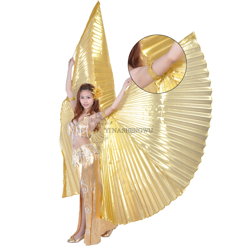 Belly Dance Hand Wings Adult Egyptian Egypt Bellydance Costume Isis Wings Dance Props  Belly Dancing Wings without Sticks