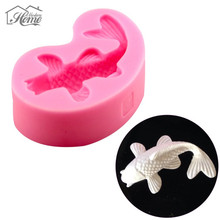 Fish Silicone Cake Molds 3D Fondant Cake Decorating Tools Chocolate Candy Jelly Mould Soap Mold Sugar Craft For Baking Tools DIY