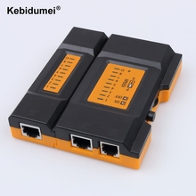 kebidumei CY-468A Network Cable Tester Detector Verify Mini Pro Network Cable Tester LAN Tester Detector Telephone Cables(China)
