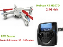 Hubsan X4 H107D 2.4G 4ch Quadrocopter 4-axle FPV Camera  Drone RC Toys Helicopter Aerial Photography Video RTF F08562