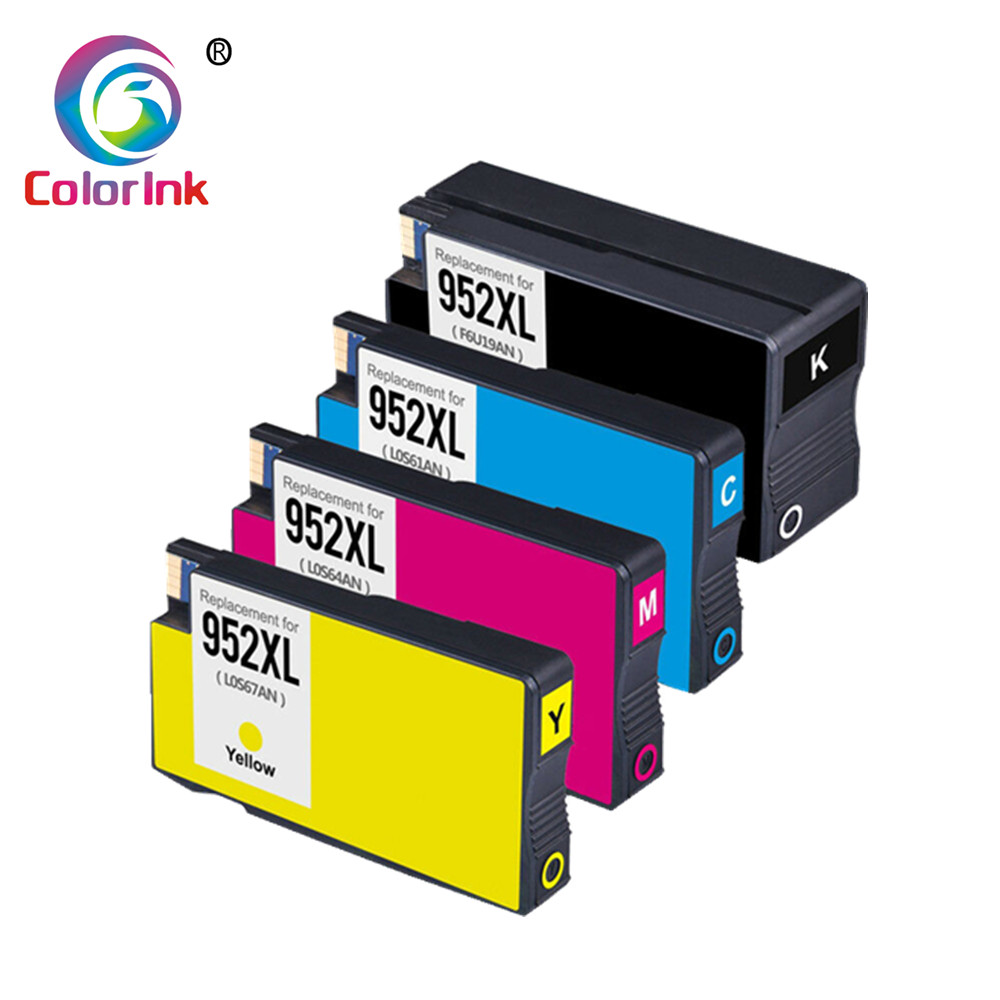4 Pack 952XL Ink For HP OfficeJet Pro 8710 7740 8210 8216 8218 8730 8740 8725