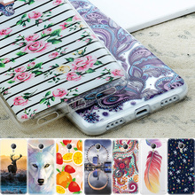 Flowers Soft TPU Cover Mobile Phone Cases For Meizu M3S M3 Note Mini U10 U20 Pro 6 Case Fruits Animals Pattern Silicone Shell(China)