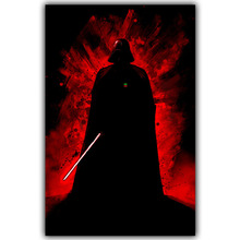 Star Wars Quote Silk Canvas Art Print Poster, Wall Pictures For Home Decoration Wallpaper DY332(China)