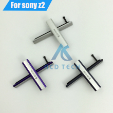 100% Waterproof USB Charging Port Dust Plug Cover + Micro SD Port +SIM Card Port Slot Cover for Sony Xperia Z2 L50W D6503