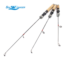 Fishing Rods Carbon Ice Fishing Rod 45cm 50cm 60cm Mini Fishing Pole Ultra-Light Fishing Tackle Free shipping(China)