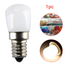 1PC E14 / E12 2W Refrigerator Freezer LED Light Appliance Lamp 220V / 110V Screw Bulb Fridge Freezer LED SMD Lamp Spotlight Bulb(China)