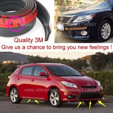 For TOYOTA Matrix For Pontiac Vibe / Car Bumper Lip / Front Spoiler Deflector For Car View Tuning / Body Kit / Strip Skirt