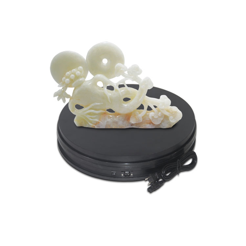 dia 15CM, h6cm plastic electric rotation retail store display turntablefor store product display electric rotary table<br>