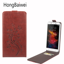 Buy HongBaiwei Homtom HT10 Case Leather Flower Pattern Vertical Flip Luxury Phone Case Cover Homtom HT10 for $4.13 in AliExpress store