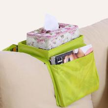 Home Sofa Storgae bag Armrest Organizer Fits Any Couch Or Chair Armrest 6 Pockets Brand New D627(China)