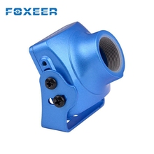 Free Shipping Foxeer Alloy Case Mount Cover Holder Spare Part For Arrow V3 Camera Black Silver Orange Blue for FPV Action Cam