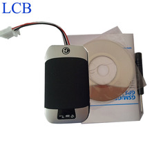 50pcs/lot New GSM GPS tracker mini Car motorcycle Vehicle Car Gps tracker mini device with Free google tracking system
