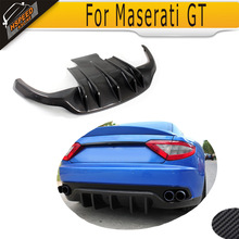 Top Quality Carbon Fiber Auto Car Diffuser, Rear Bumper Lip For Maserati GT Gran Turismo 2008-2013