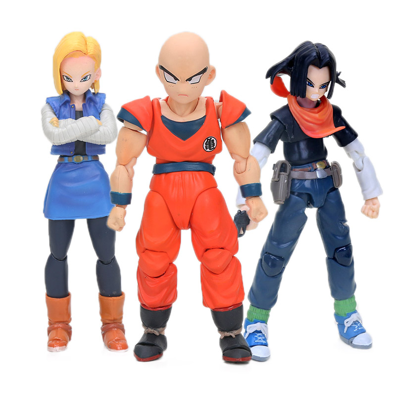 S.H.Figuarts Anime DragonBall Z Klilyn PVC Action Figure New In Box