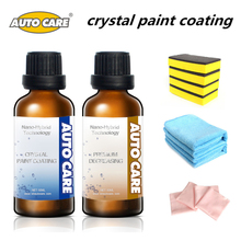 50ml Liquid Car Wax Crystal Car Glass Hydrophobic Coating Glass Ceramic Liquid Wax Free 50ml Degreasing Agent And Free Wax Tools(China)