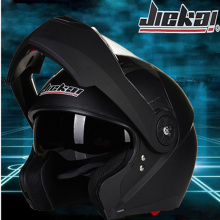 JIEKAI 115 Double Visor Modular Flip Up helmet motorcycle helmet racing Motorcross helmet DOT approved  Size M-XL 7 Colors