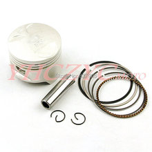 Free Shipping For HONDA NT400 BROS (NC25) Motorcycle High Quality Chromium-faced aluminium piston rings kit